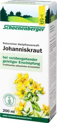 JOHANNISKRAUT SAFT Schoenenberger 200 ml Saft