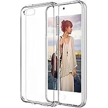 TopAce® Ultra Slim Transparente TPU Silicona Funda Protective Case Funda Cover para Apple iPod Touch 6th Generation 2015 (Clear)