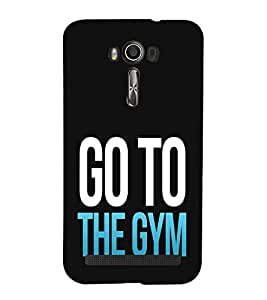 EPICCASE GYM Mobile Back Case Cover For Asus Zenfone 2 Laser ZE601KL / Asus Zenfone 2 Laser ZE601KL (6 Inches) (Designer Case)