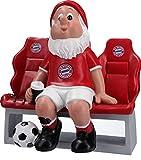FC Bayern München Gartenzwerg Ersatzbank 18,5 x 11 x 20 cm