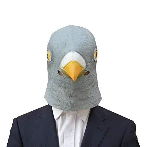 QJXSAN Halloween Ball Maske Party Party Maske Taube Maske Tierkopf Abdeckung Vogel Maske