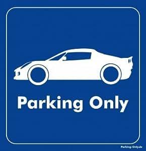 Parking Only–Lotus Elise–Parking autocollants