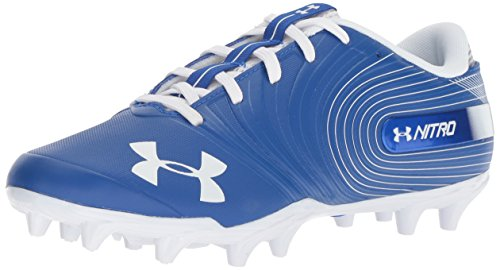 Under Armour Hombres Nitro Low Mc Football Low & Mid Tops Schnuersenkel Fussball Sneaker Blau Groesse 10 US /44 EU