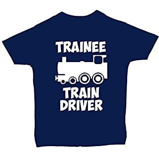 Acce Products Trainee Train Driver Baby/Children T-Shirt/Tops - 4-5 Years - Blue