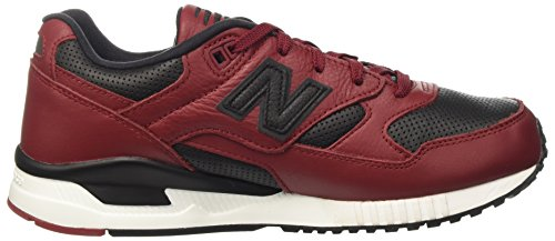 New Balance 530, Baskets Basses Homme Rouge (Red)