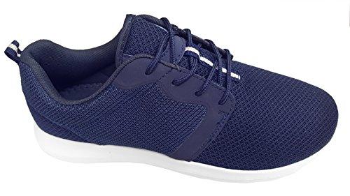 gibra , Baskets pour homme Bleu foncé