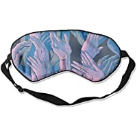 Sleep Eye Mask Hand Lightweight Soft Blindfold Adjustable Head Strap Eyeshade Travel Eyepatch E19 preisvergleich bei billige-tabletten.eu