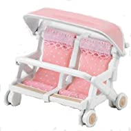 Epoch Sylvanian Families Sylvanian Family Double baby buggy?KA-214 (japan import)