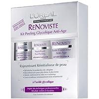 L Oréal ReNoviste - Kit de exfoliación glicólica antiedad