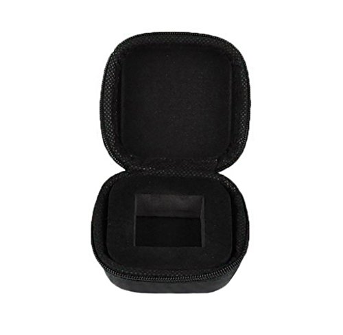 Malloom Gift For Fidget Cube Anxiety Stress Relief Focus Dice Bag Box Carry Case Packet (Black -2)