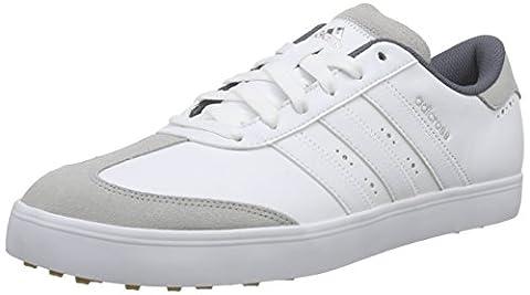 adidas Herren Adicross V Golfschuhe, Weiß (white / White / Gum), 40 EU