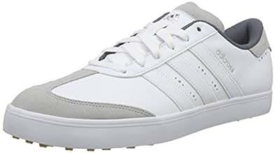 adidas Adicross V, Men's Golf Shoes, White (White/White/Gum), 6.5 UK (40 EU)