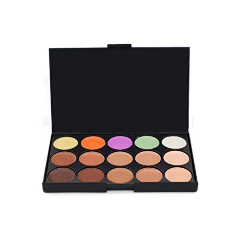Internet Pro 15 couleurs neutres chaleureux Concealer de fard à paupières Palette 3#