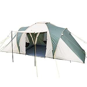 Skandika Daytona Dome Tent - 6 Person, Beige/Brown
