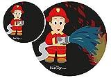 Effekt Aufkleber Sticker Urinal PEESIGN'FEUERWEHRMANN' Urinal Spiel