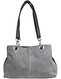 Girly HandBags Italian Suede Leather Shoulder Bag