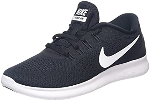 Nike Damen Free RN Laufschuhe, Schwarz (Schwarz/Weiß/Anthrazit), 36 EU