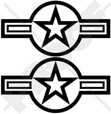 us-airforce-cocarde-usaf-usmc-marine-armee-160-cm-160-mm-en-vinyle-bumper-stickers-stickers-x2-choix