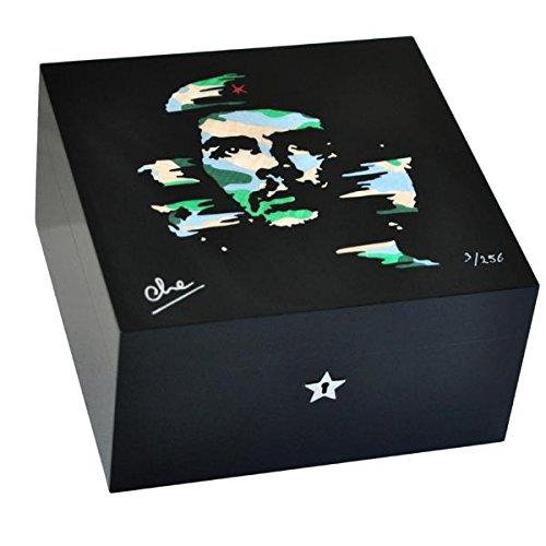 Elie Bleu Zigarren Humidor 'The Camouflage' Platane für 75 Zigarren