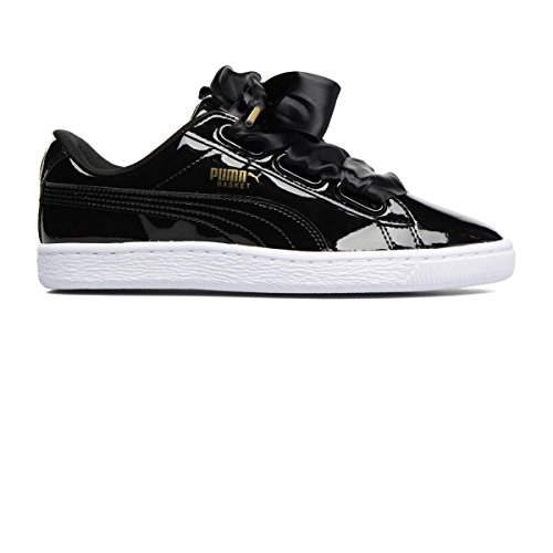 Puma Basket Heart Patent, Sneakers Basses Femme