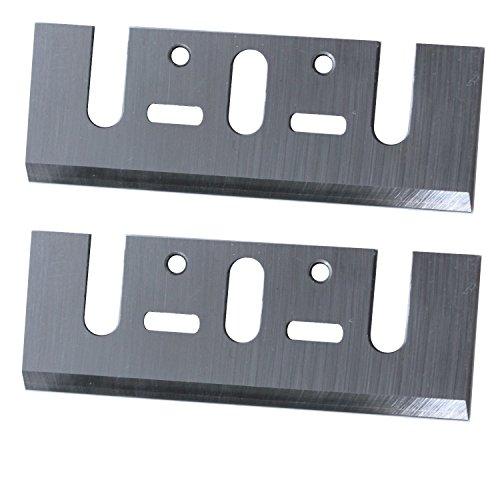 HSS Hobelmesser 2 Stück Ersatzmesser Wendemesser für Elektrohobel 82 x 29 x 3 mm