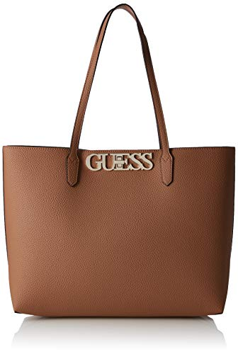 8c2c6ae1bde4c8 Guess - Uptown Chic Barcelona Tote, Mujer, Negro (Tan), 42x28.