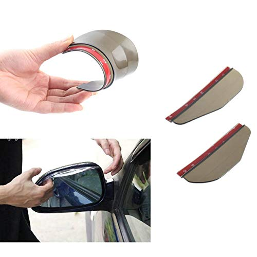 Preisvergleich Produktbild Qewmsg Rear Mirror Rain Board Eyebrow Visor Shade Shield Water Guard For Car Truck