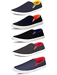 Tempo Men's Combo Pack of 5 Loafers