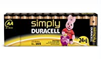 Duracell Pile Alcaline Simply AA x 24