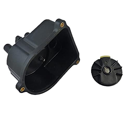 MagiDeal Replacement Car Ignition Distributor Cap and Rotor Kit for Honda Civic 92-00