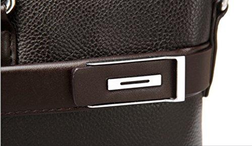 Herren Business Bag Bag Handtasche Querschnitt Aktentasche Freizeit Bag Schultertasche Messenger Bag Black