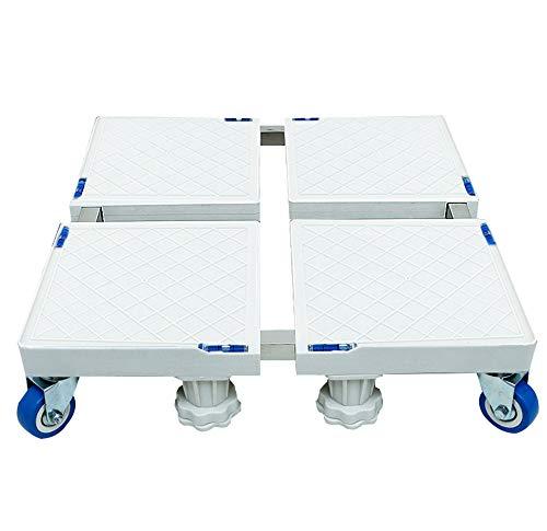 Plateau des ménages Base carrée électrique, Support, Support de réfrigérateur trépied Mobile Universel pour Coussin de Roue, Lave-Linge, Portant 500kg