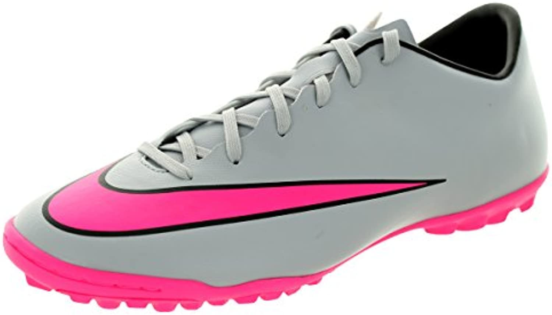 Nike Mercurial Victory V TF Fussballschuhe Wolf Grey-Hyper Pink-Black-Black - 47