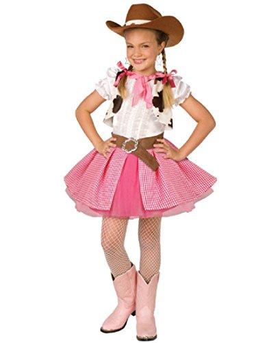 Cowgirl Cutie Child Costume, Medium 8-10
