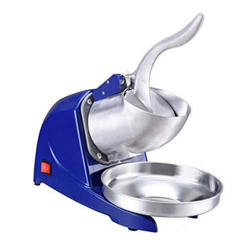 FSGD Elektrische Ice Crusher Shaver Schnee-Kegel-Maschine Machine1400 r/min für Heim- und kommerziellen Einsatz, 220W