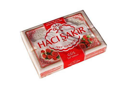 Haci Sakir Seife Rose 4er Pack 4x 150 g
