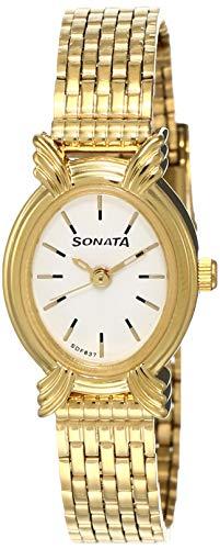 Sonata 8110YM02  Analog Watch For Unisex