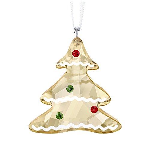 SWAROVSKI GINGERBREAD TREE ORNAMENT Lebkuchen Baum Ornament