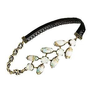 Headband Epi, cristaux opal