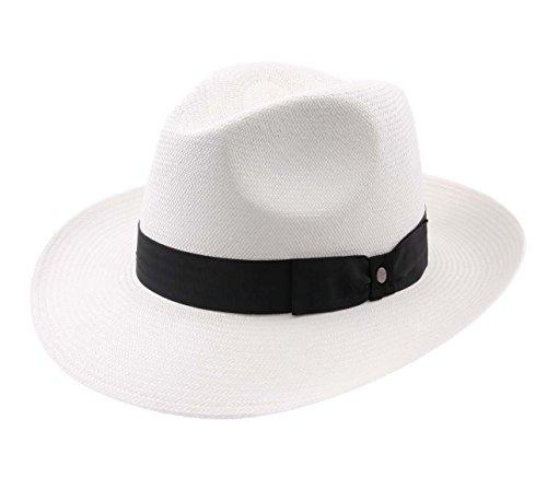 Stetson - Chapeau Panama Paille Homme ou Femme Philadelphia Panama - Taille M