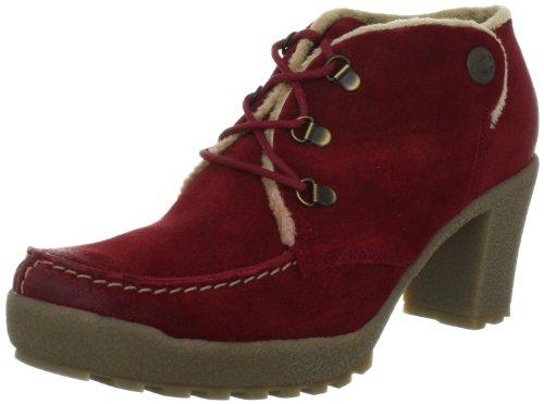camel active Pisa 11 774.11.02, Damen Fashion Halbstiefel & Stiefeletten, Rot (berry), EU 38.5 (UK 5.5)