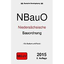 Niedersächsische Bauordnung: NBauO