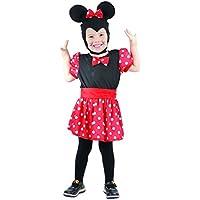 34567b9722f9 Unbekannt P 'Tit Clown – 92665 – Bambini del Costume per ragazza Mouse –  Nero