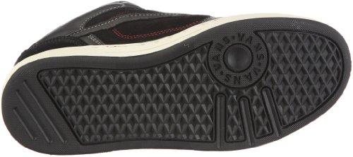 Vans M EDGEMONT VNJ6LIS, Sneaker uomo Nero (Schwarz/(Weather) black/red)