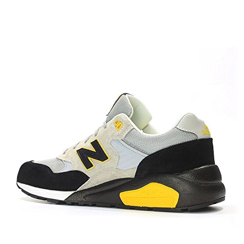 New Balance 580 Uomo Sneaker Marrone LS GREY/BLACK