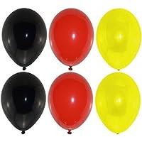 bestehemden 30 Luftballons Deutschland Schwarz Rot Gelb