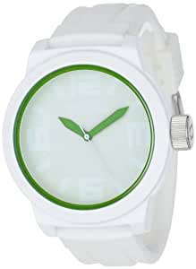 Kenneth Cole Reaction Men's RK1242 White Silicone Quartz Watch with White Dial