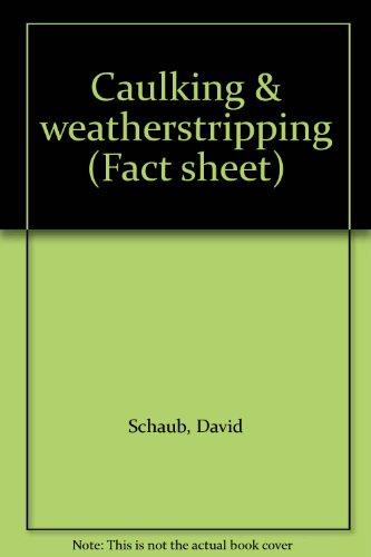 caulking-weatherstripping-fact-sheet