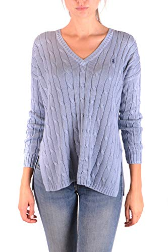 Ralph Lauren Luxury Fashion Damen MCBI35917 Hellblau Sweatshirt | Jahreszeit Outlet