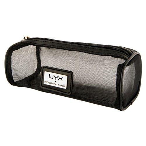 (3 Pack) NYX Mesh Zipper Makeup Bag Black